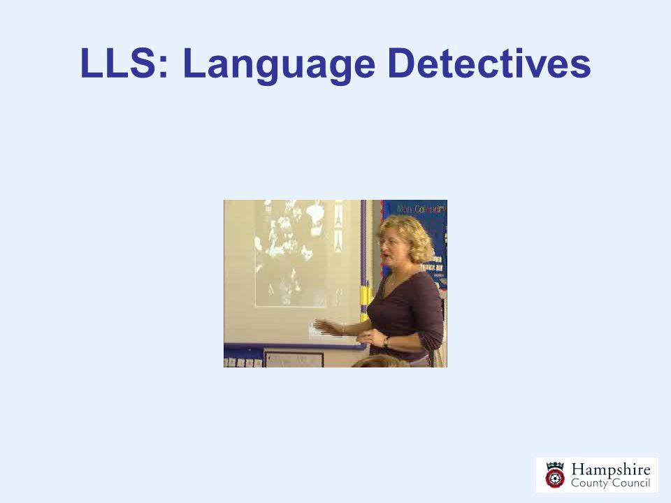LLS: Language Detectives