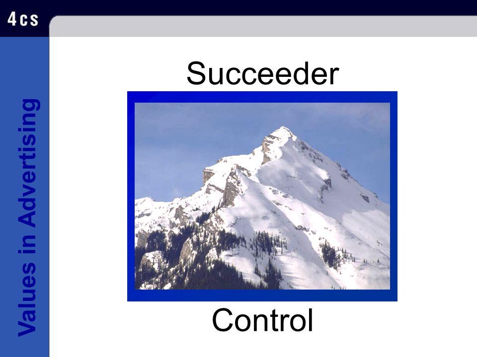 Values in Advertising Succeeder Control
