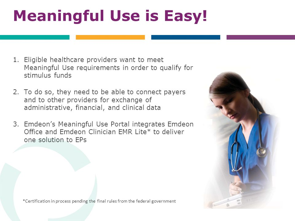 Meaningful Use is Easy.