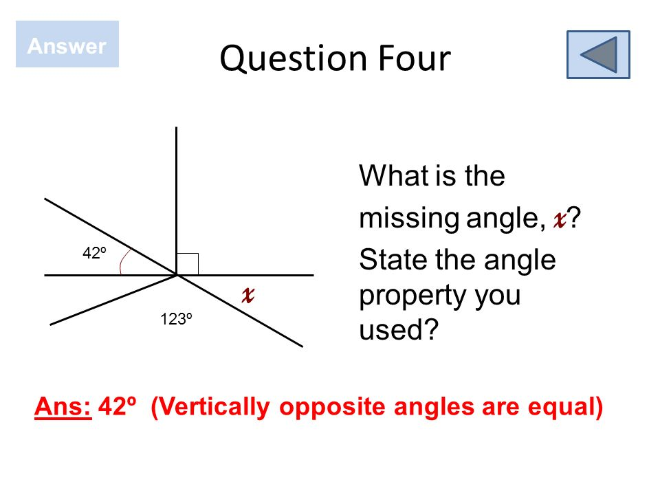 Question Three Answer Ans: 315º What is the bearing for the compass direction NW? 0 0 ?