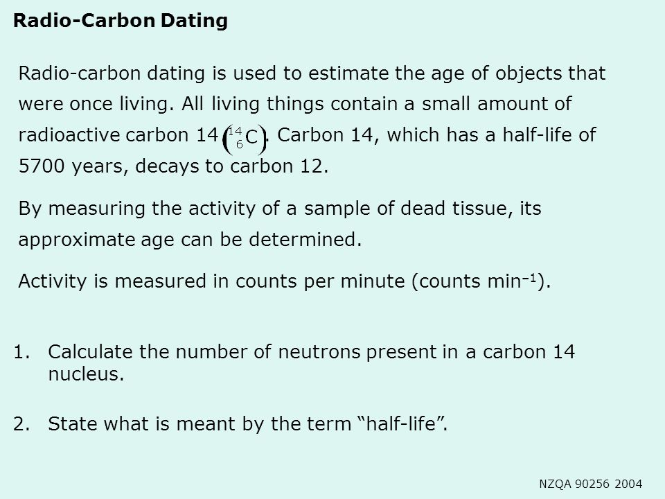 Is Carbon For Why Carbon Dating 12 Used