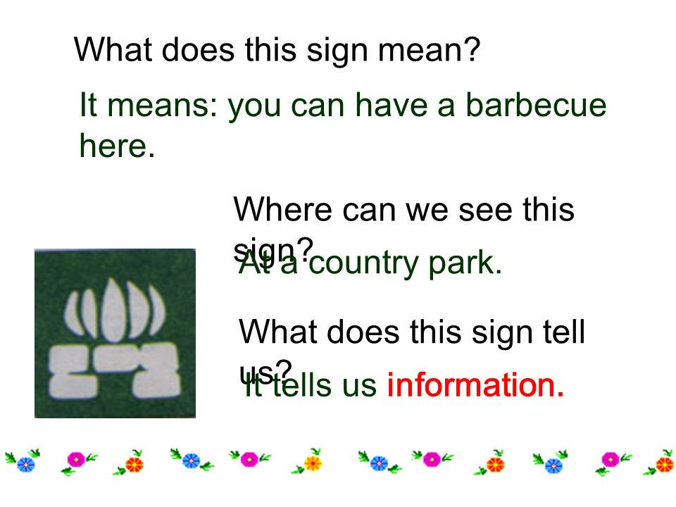 Wait.Go. What does this sign mean. Where can we see this sign.