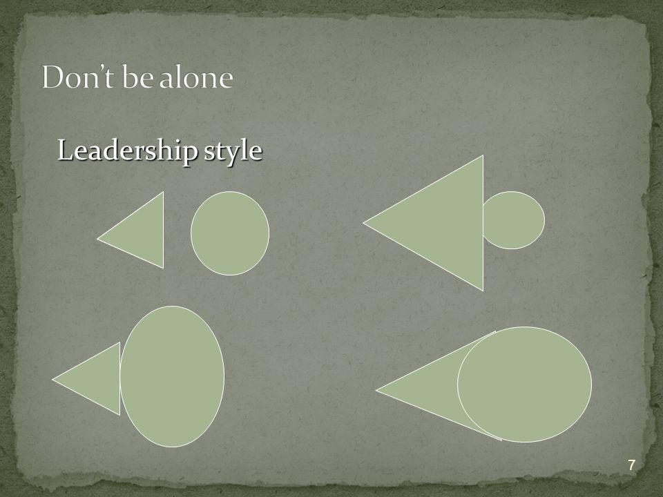 7 Leadership style