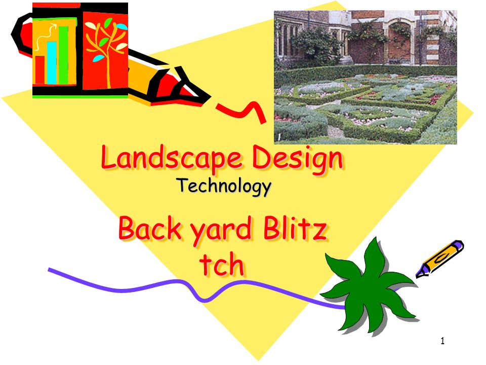 Landscape Design Back yard Blitz tch Technology 1