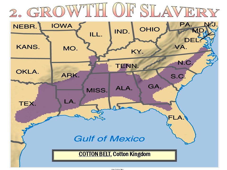 Map/Cotton Belt COTTON BELT, Cotton Kingdom
