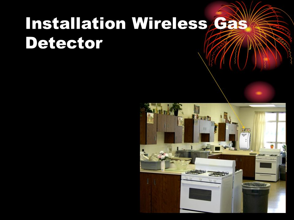 Installation Wireless Gas Detector