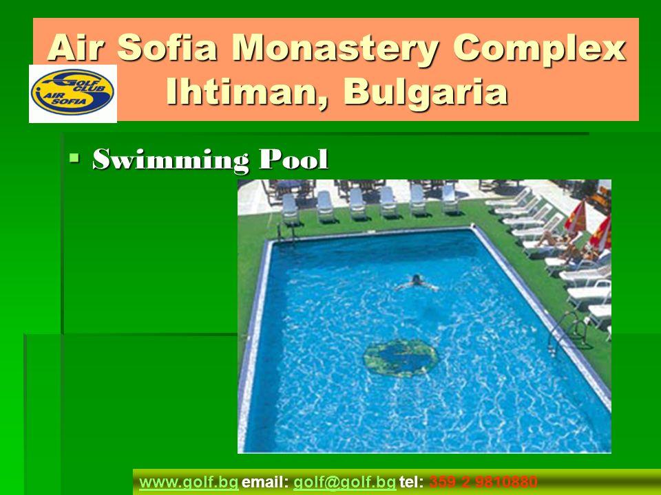 Hole 9 Hole 9 Air Sofia Monastery Complex Ihtiman, Bulgaria www.golf.bgwww.golf.bg email: golf@golf.bg tel: 359 2 9810880golf@golf.bg