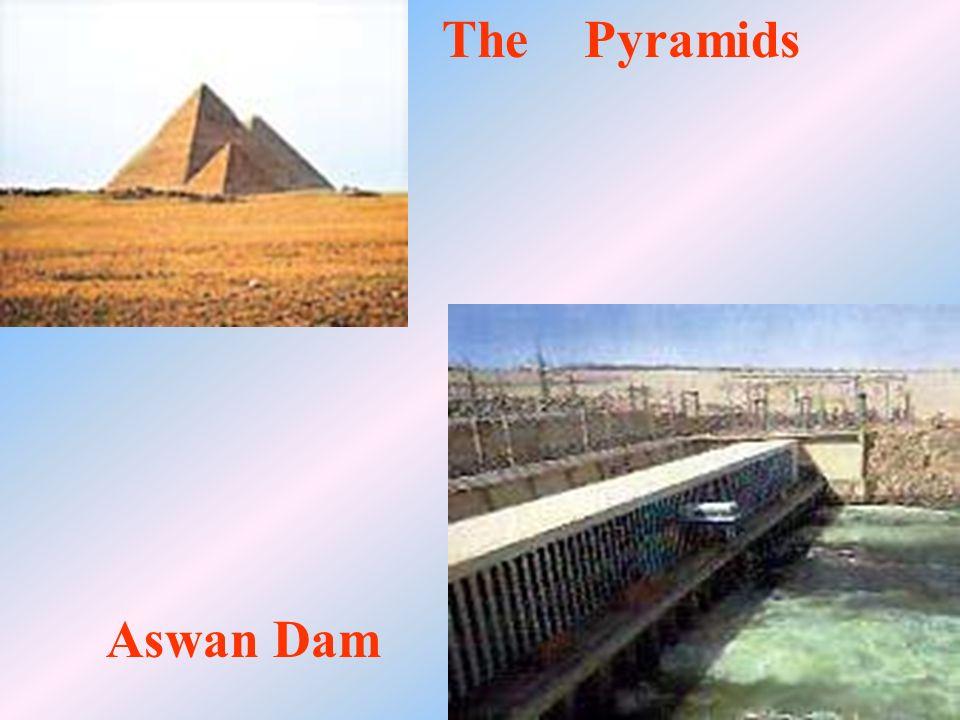 The Pyramids Aswan Dam