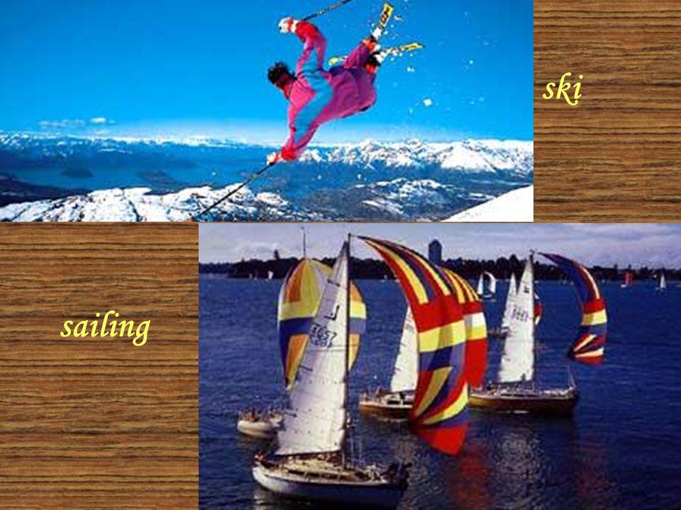 sailing ski