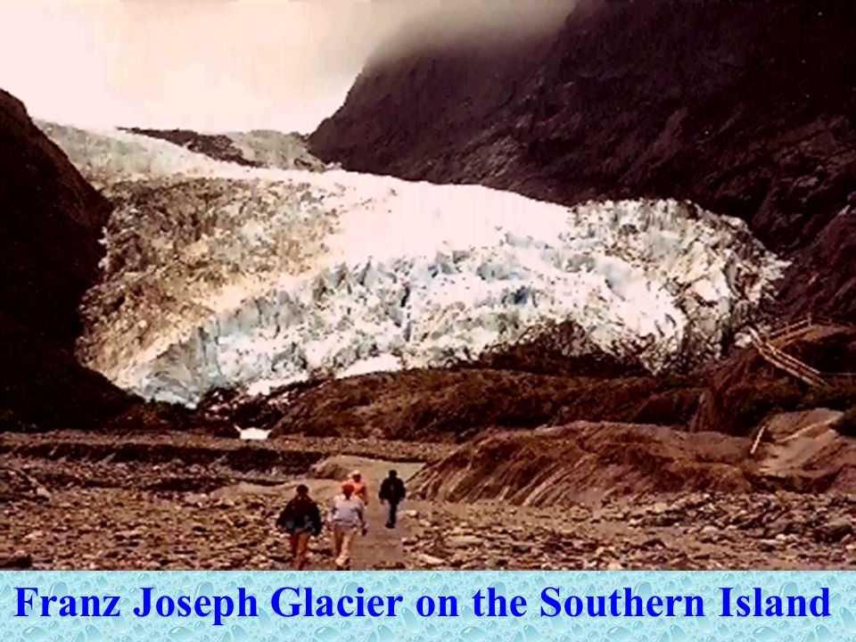 Franz Joseph Glacier on the Southern Island