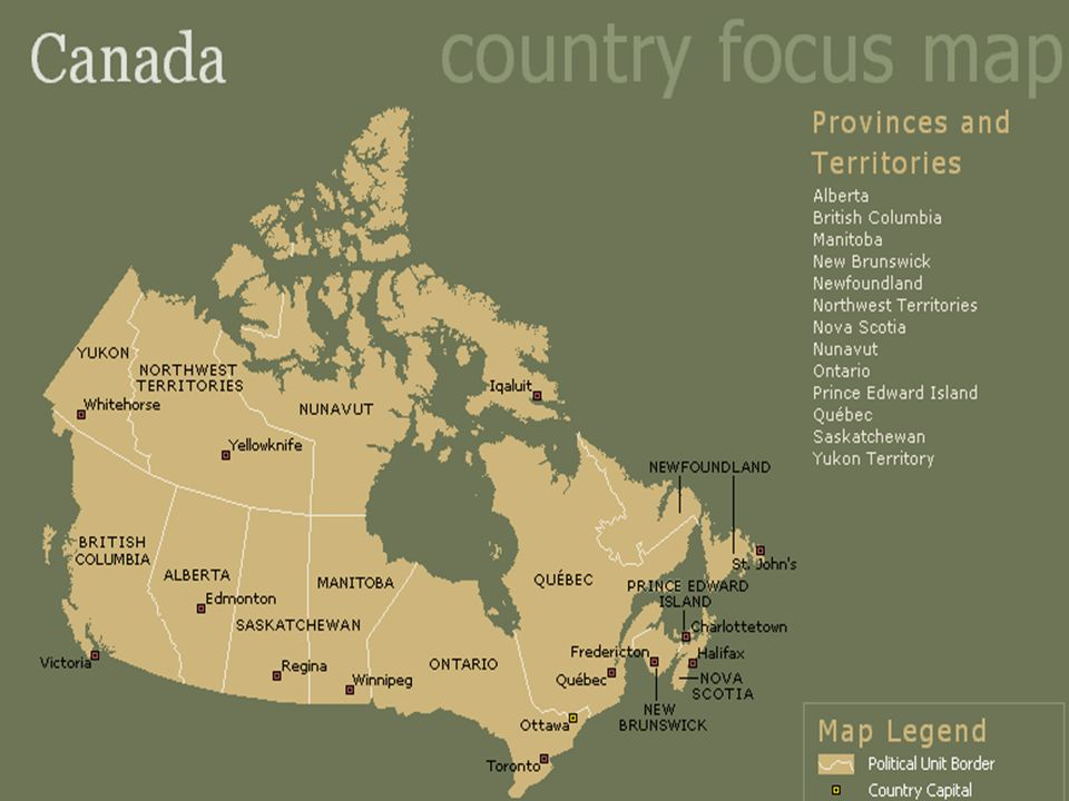 Time areas The world is divided into twenty-four time areas. Canada covers six of them. The world is divided into twenty-four time areas. Canada cover