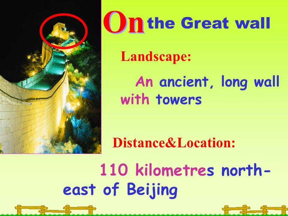 The Forbidden City Tiananmen Square N E W S 12km near The Great Wall 110km