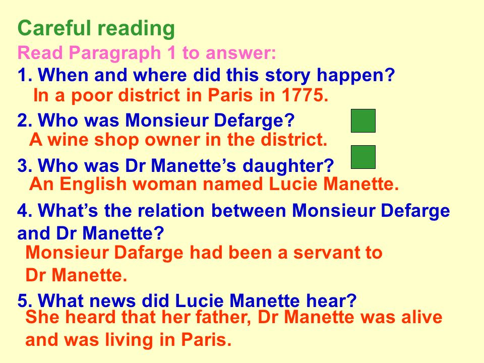 Dr Manette 1) of Lucie Manette. 2) His died when Lucie was a baby.