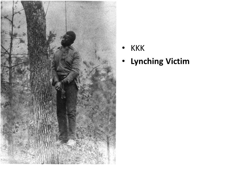 Lynching Victim