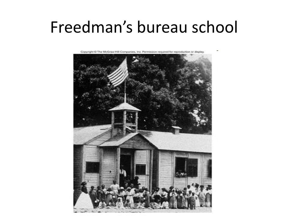 Freedmans bureau school