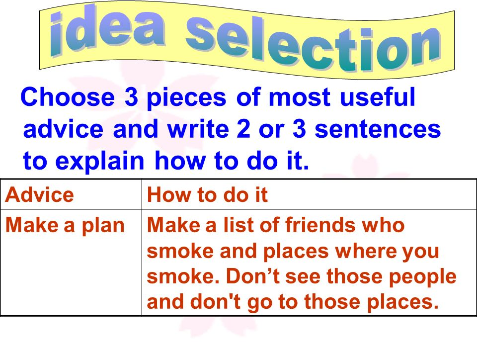 203 Thames Street Oxford, OX41LF Friday 11 Nov. Dear students in Class 20 Grade 2, Can you help me, please? I have tried to stop smoking several times