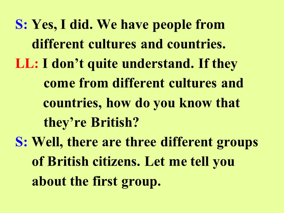 A long time ago Britain ruled many countries.