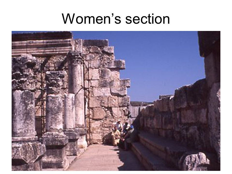 Womens section