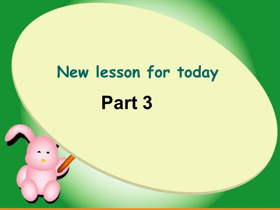 New lesson for today Part 3