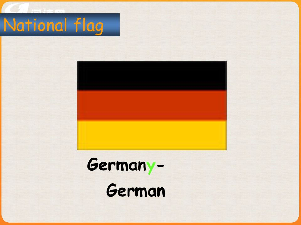 Germany- National flag German