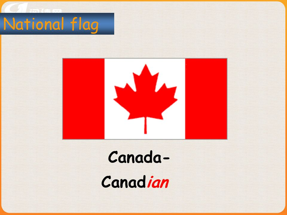 Canada- National flag Canadian