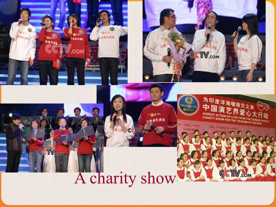 A charity show