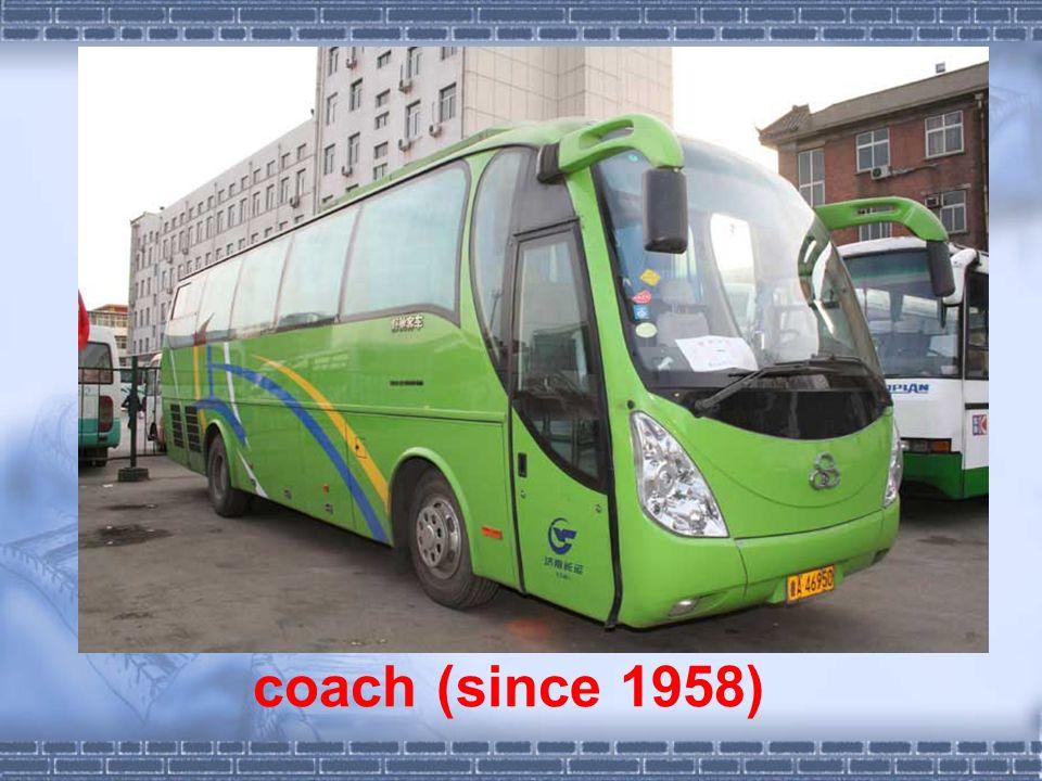 coach (since 1958)