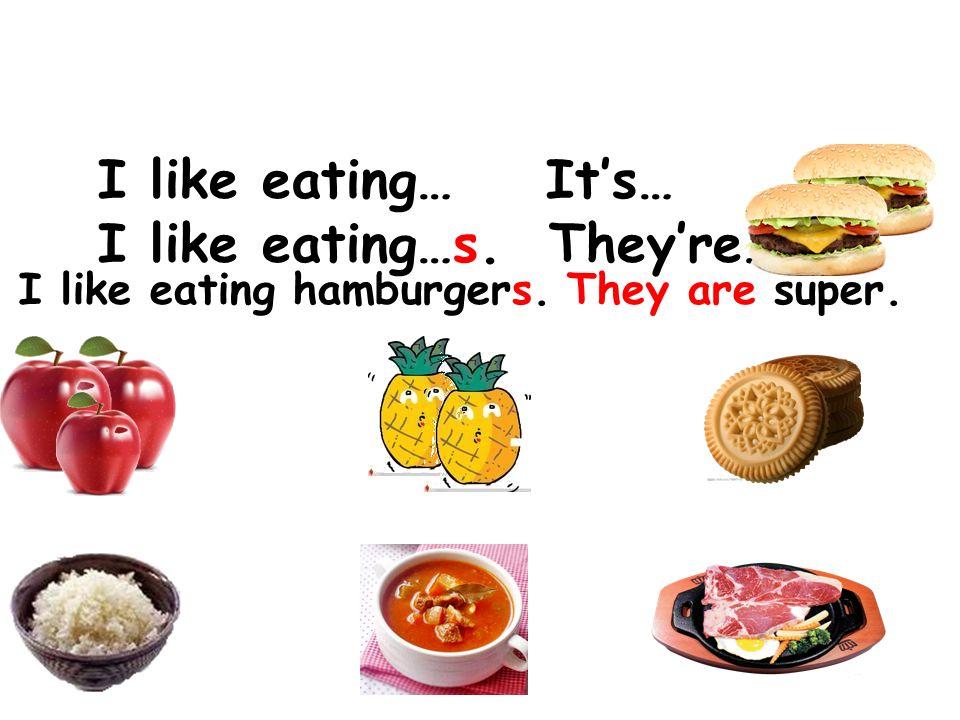 Tod, what do you like eating I like eating ________. Its… bug cake bug soup bug pizza