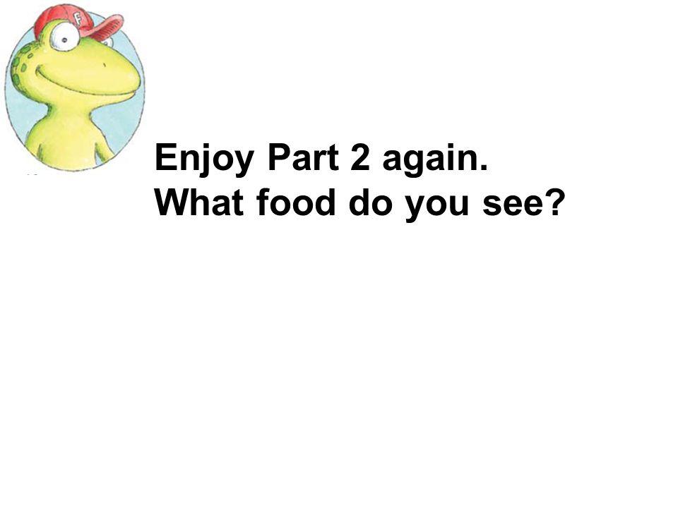 I like eating… Its… I like eating…s. Theyre… I like eating hamburgers. They are super.