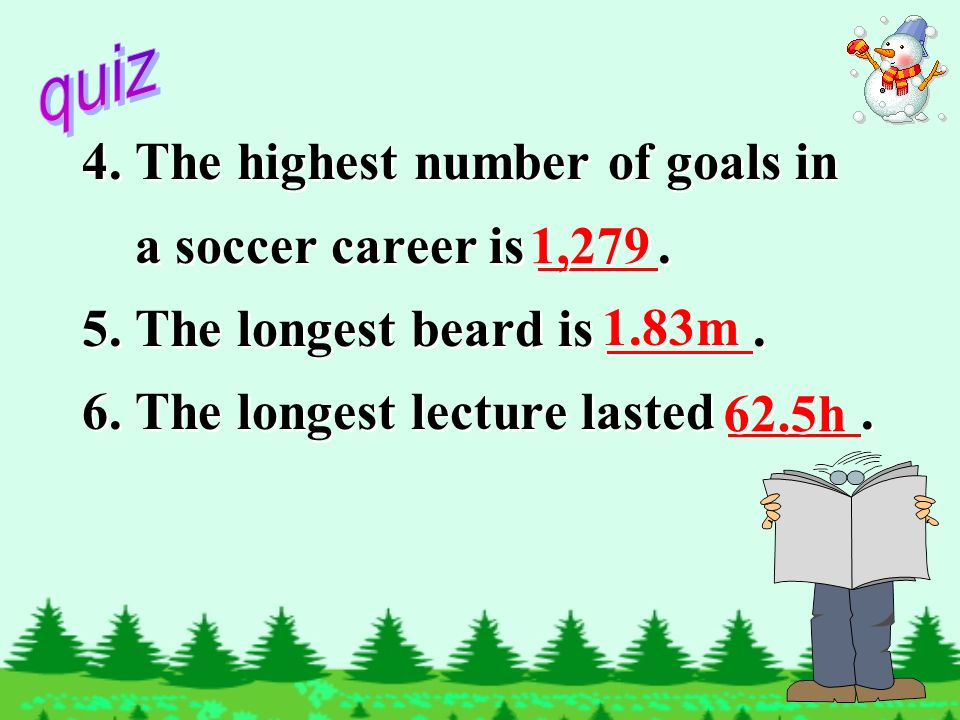4.The highest number of goals in a soccer career is.