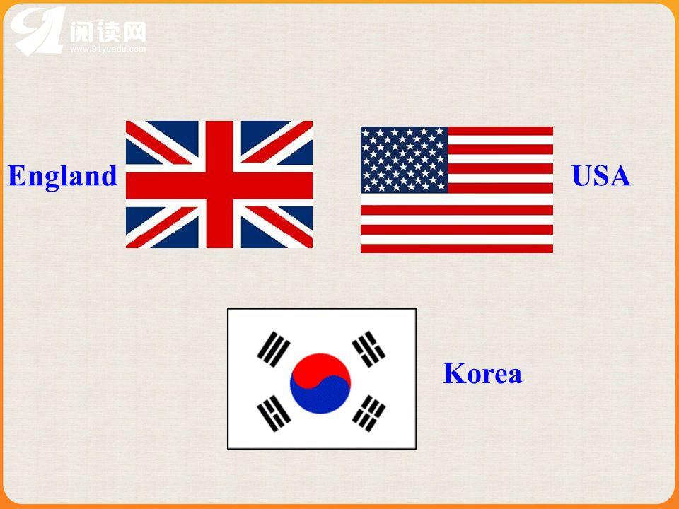 USA England Korea