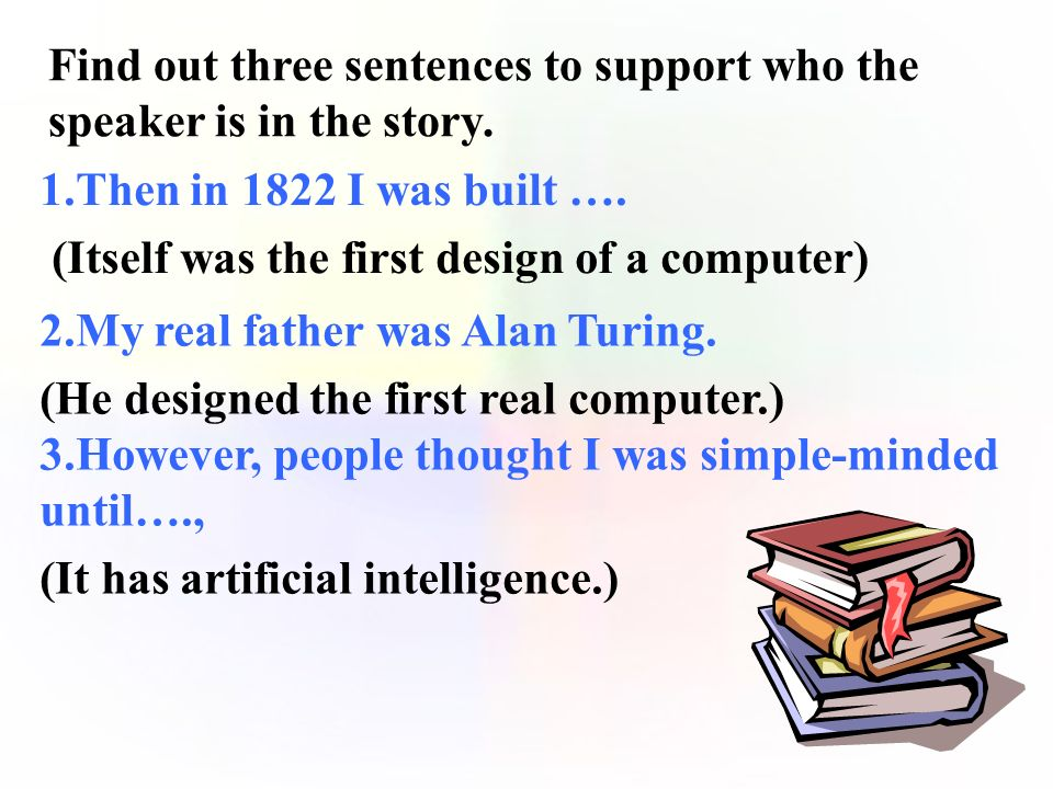 This reading passage is mainly about the and the of the computer. history development