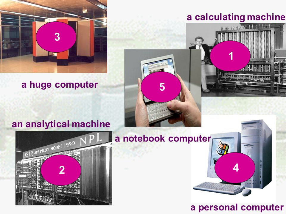 Q5: In how many ways do we say the computer changed.