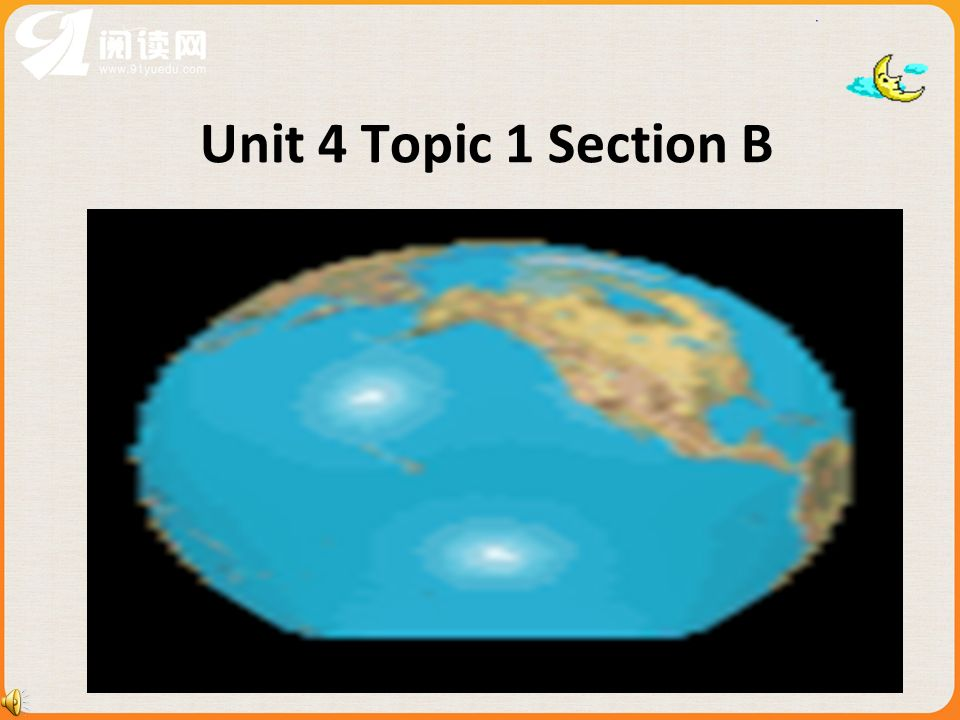 Unit 4 Topic 1 Section B