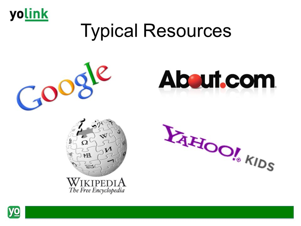 Typical Resources