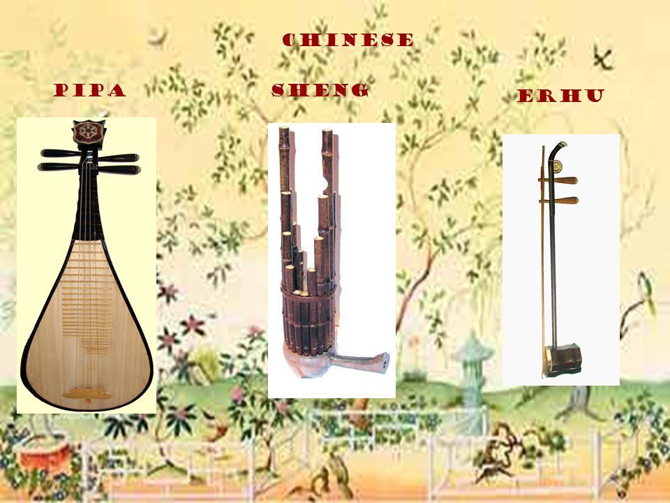 Chinese PipaSheng Erhu