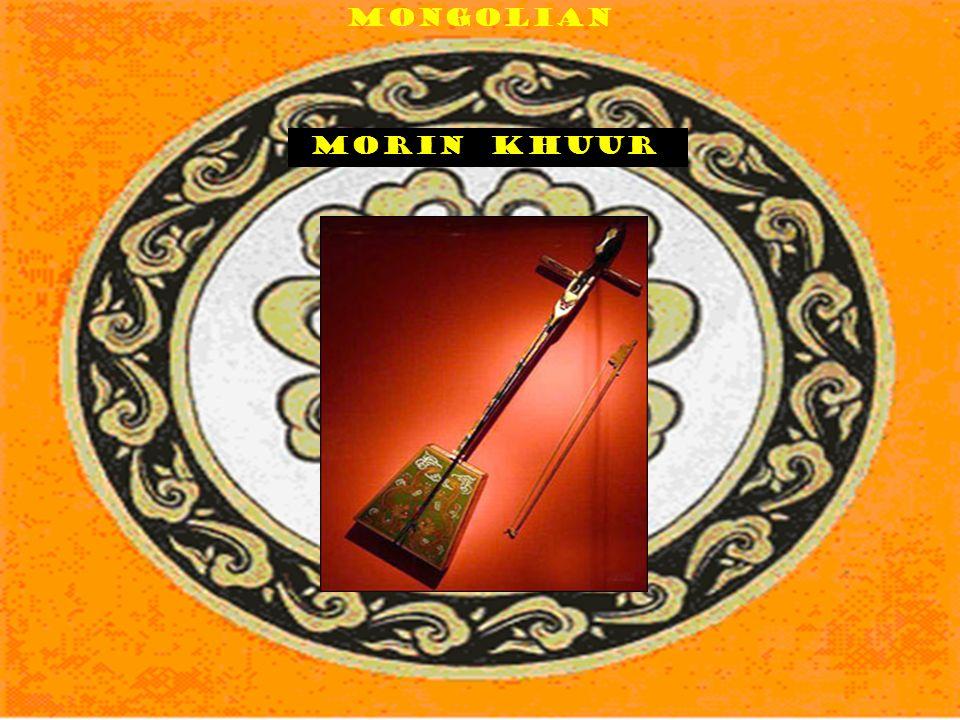 Mongolian Morin khuur