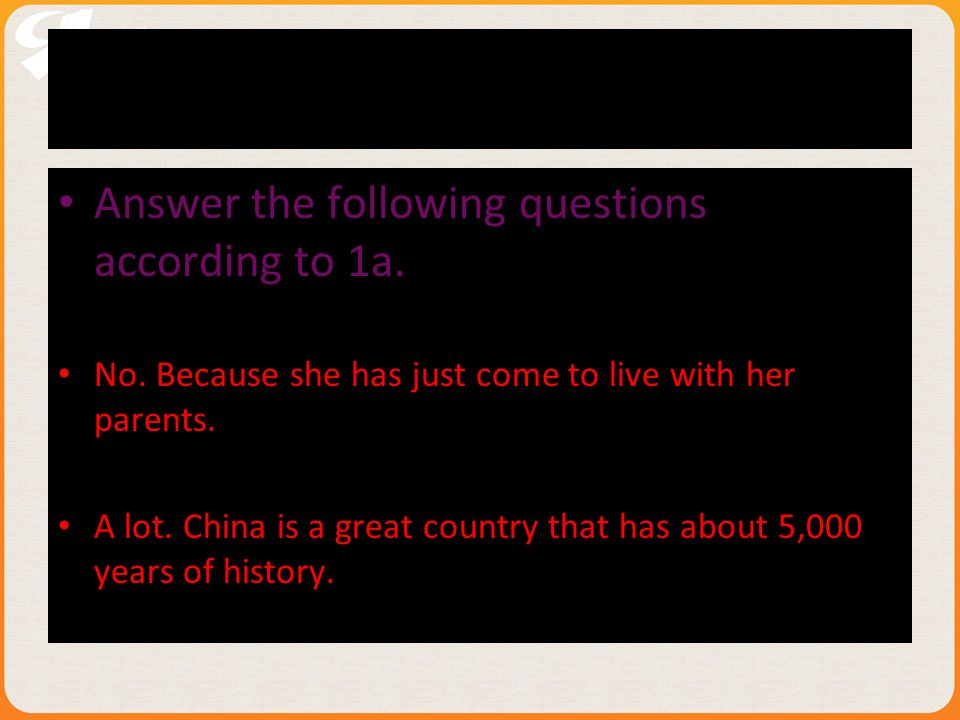 2.Answer the following questions according to 1a.