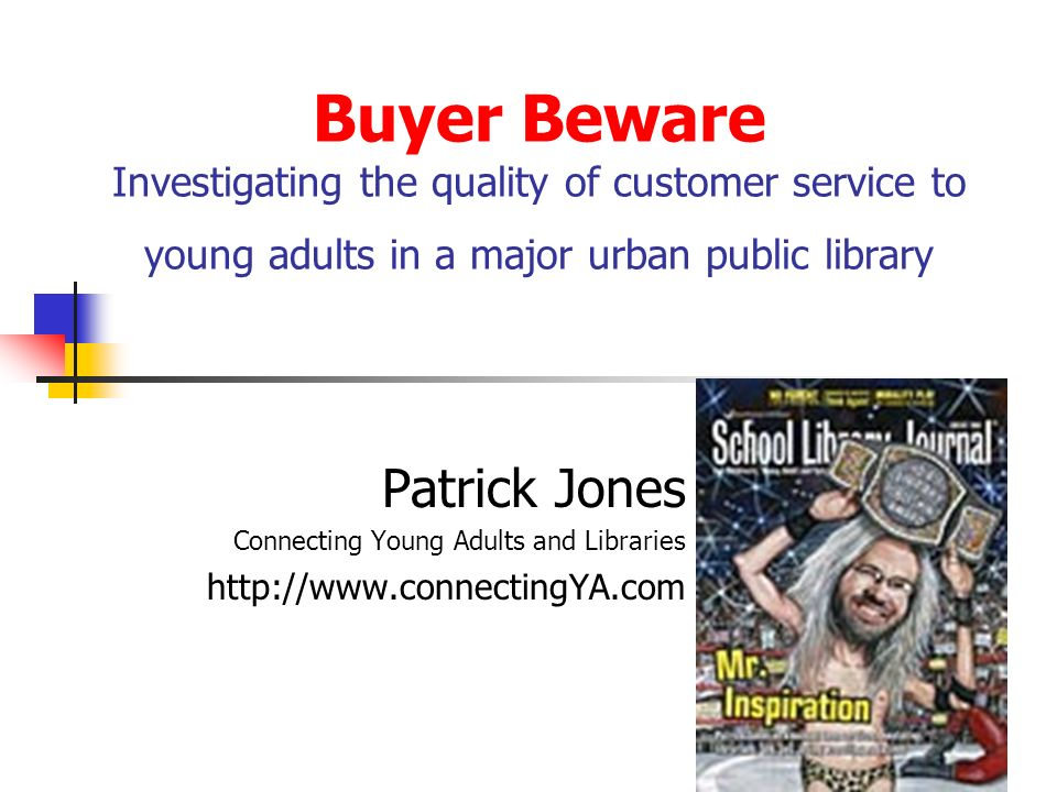 Great YA reference service is Convenient: this is a logical extension of a user-centered approach.