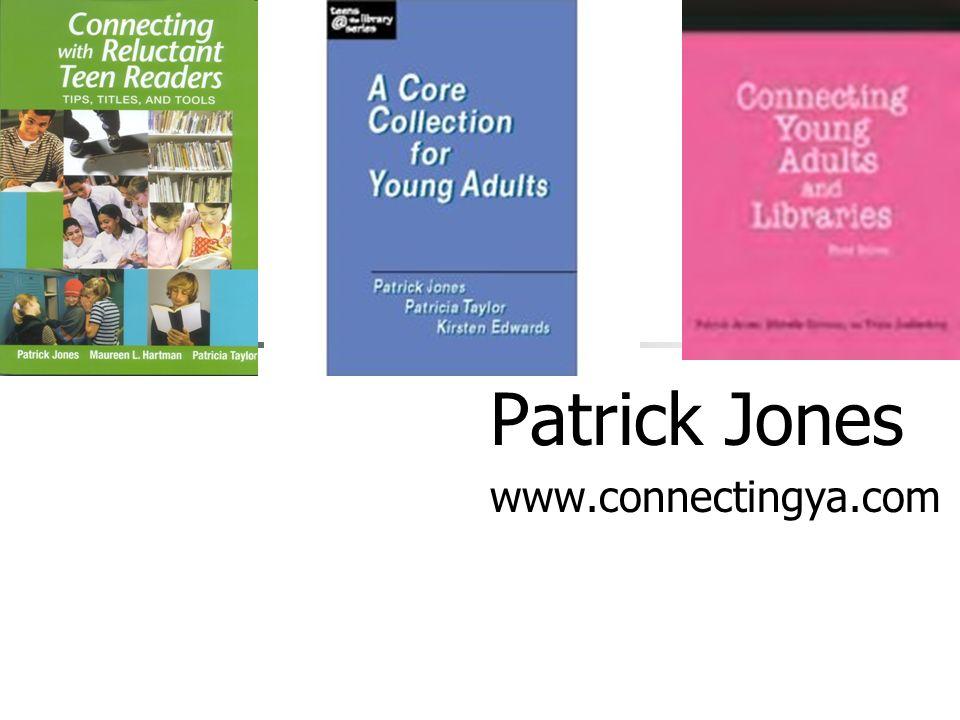 Patrick Jones www.connectingya.com