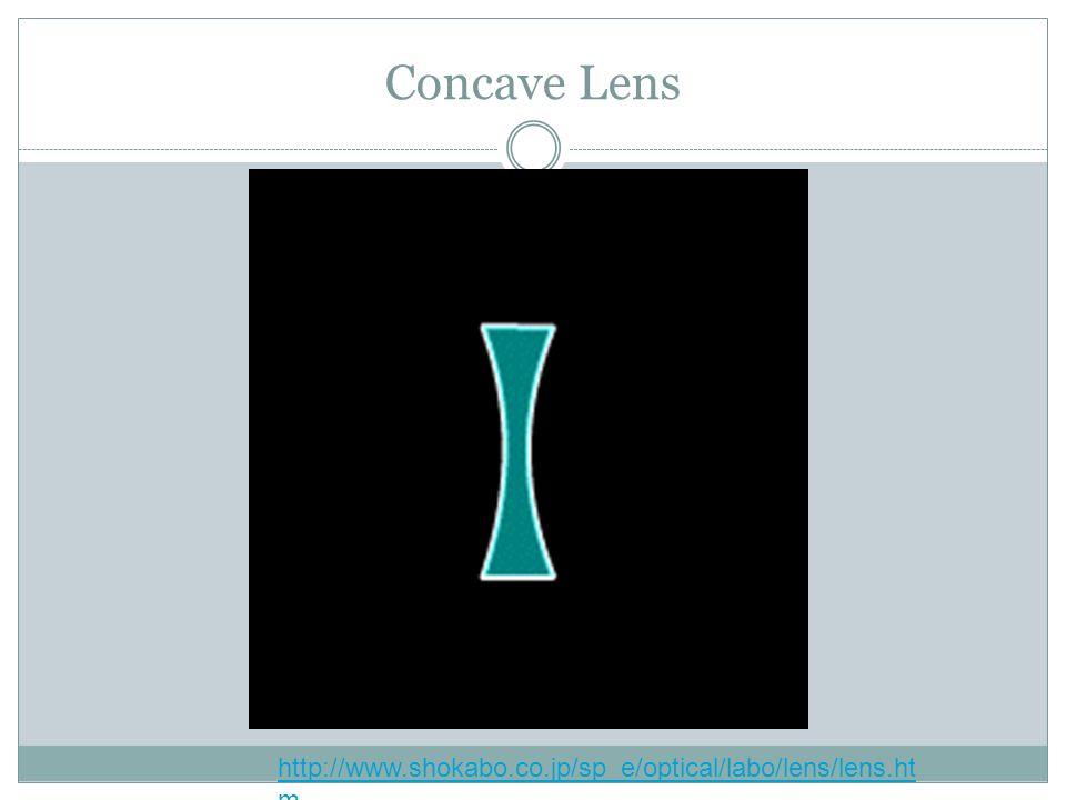 Concave Lens http://www.shokabo.co.jp/sp_e/optical/labo/lens/lens.ht m