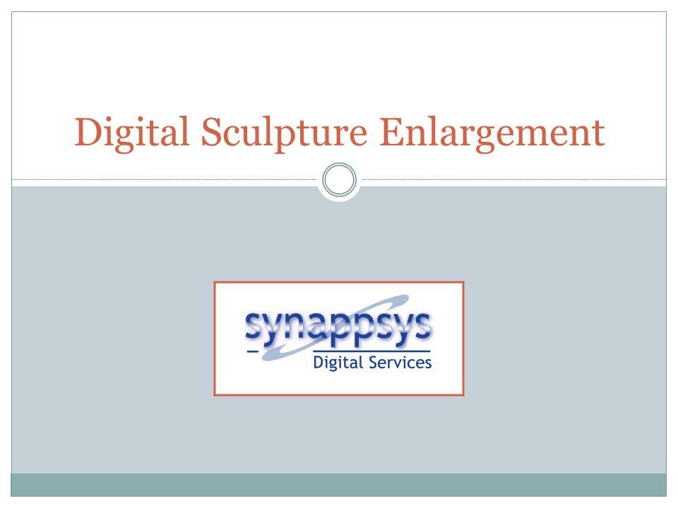 Digital Sculpture Enlargement