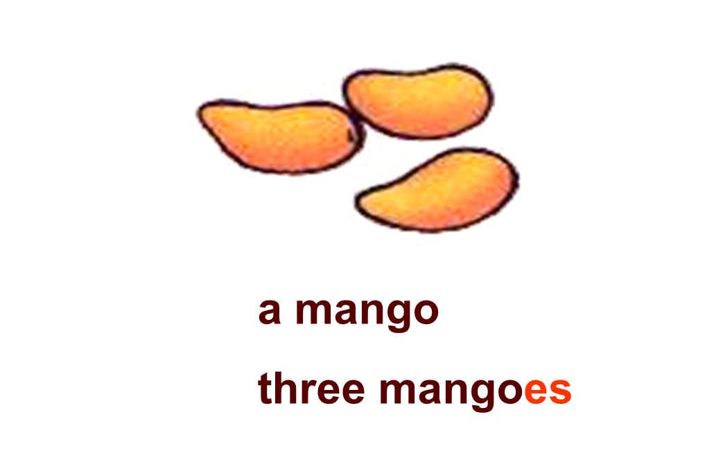 a mango three mangoes