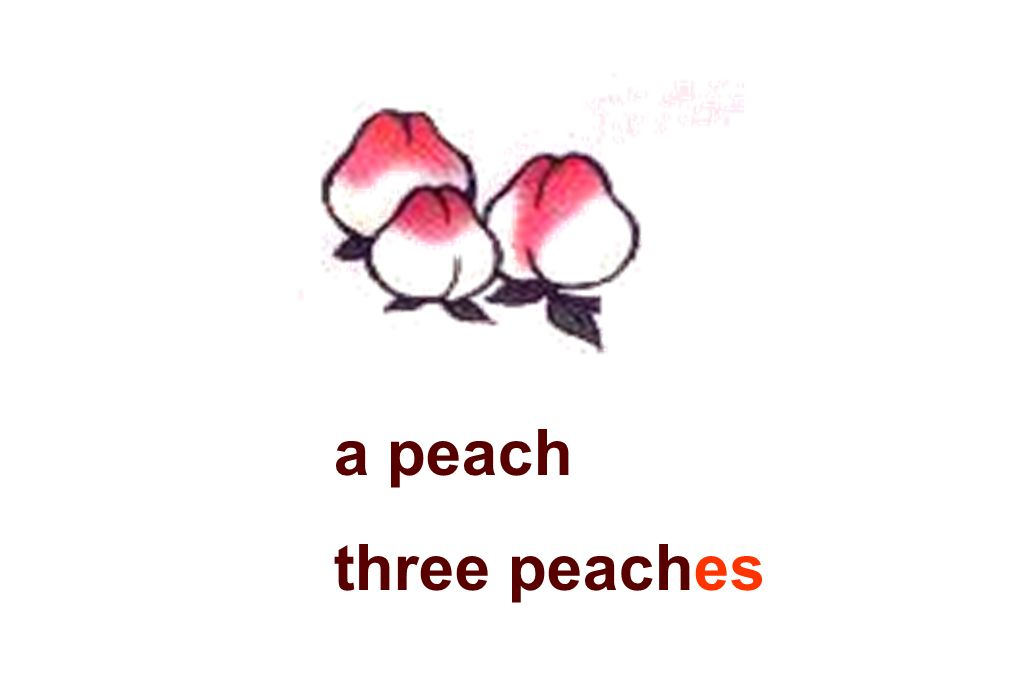 a peach three peaches