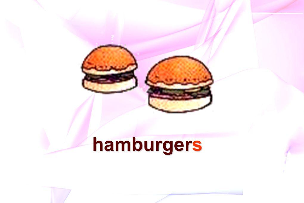 hamburgers hamburgers