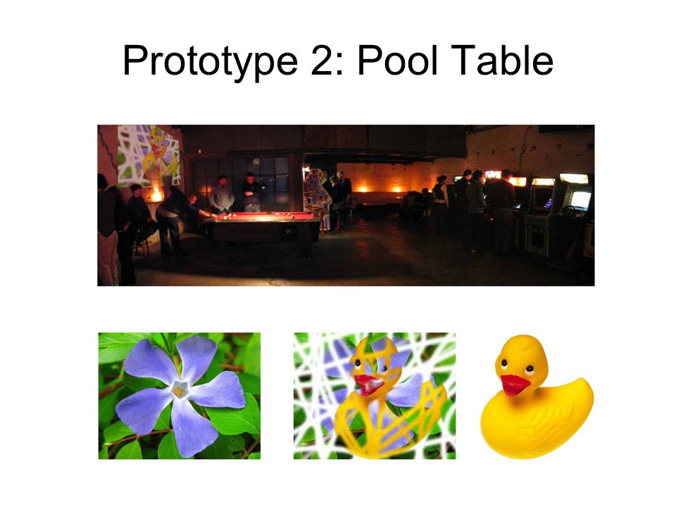 Prototype 2: Pool Table