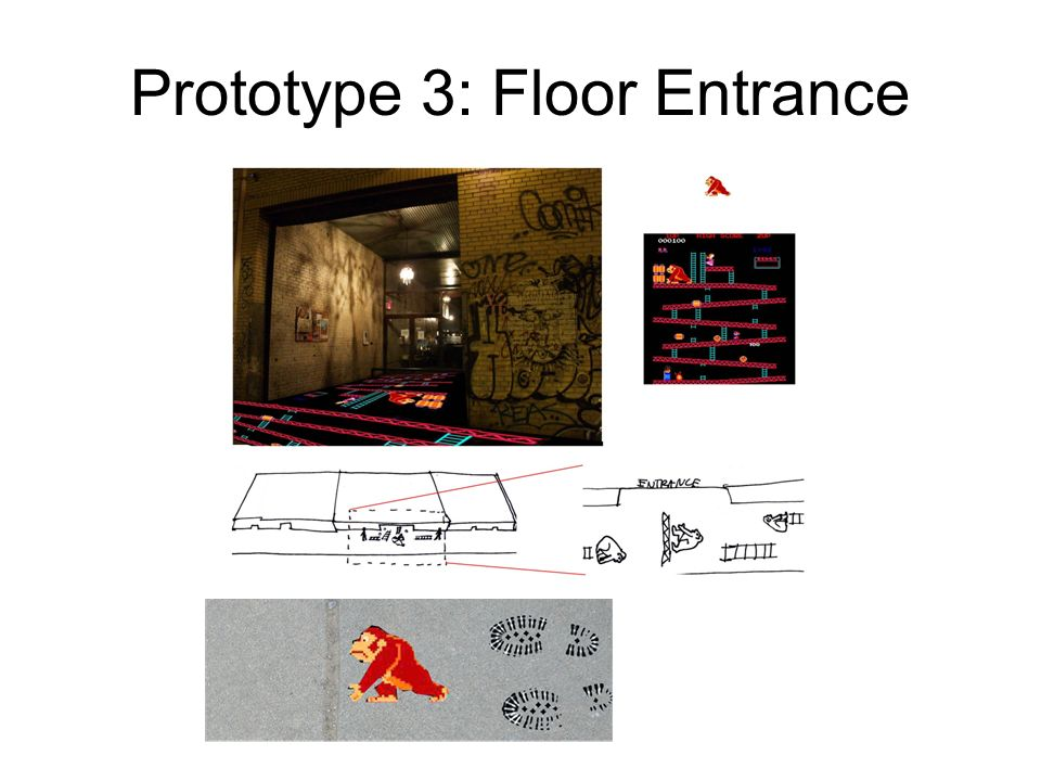 Prototype 3: Floor Entrance