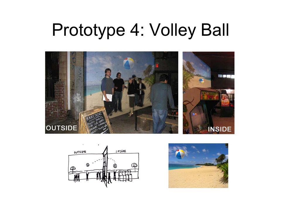 Prototype 4: Volley Ball