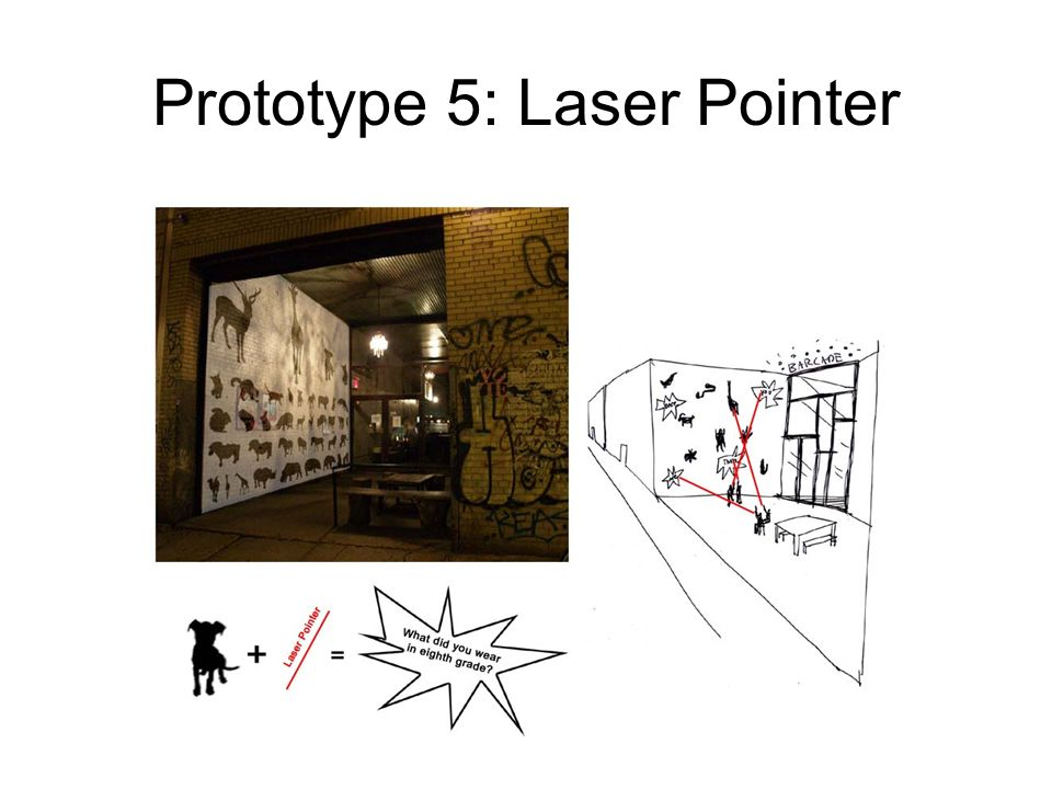 Prototype 5: Laser Pointer