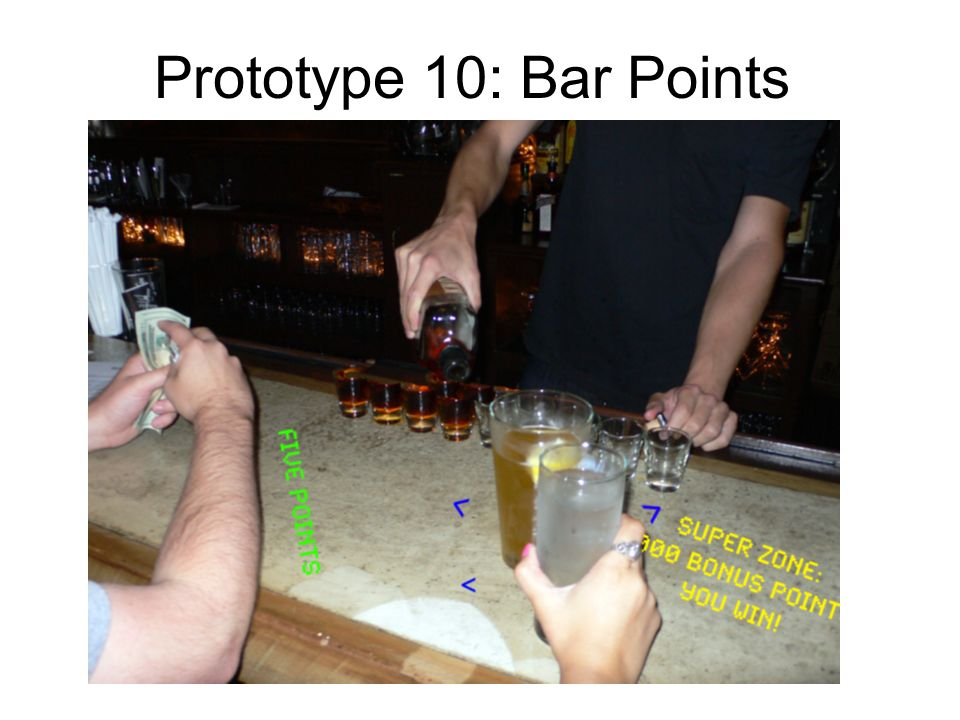 Prototype 10: Bar Points